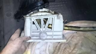Замена радиатора печки не снимая торпедо ЗАЗ-ЛАНОС