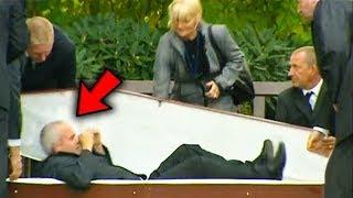 ТОП 7 Човека,които са се събудили на погребението си!