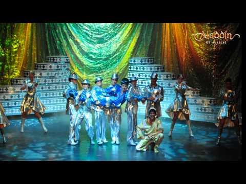 Aladdin Musical Mexico 2015