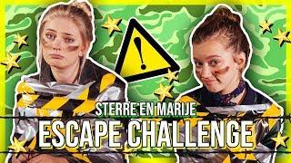MARIJE ZUURVELD EN STERRE DOEN DE ESCAPE CHALLENGE