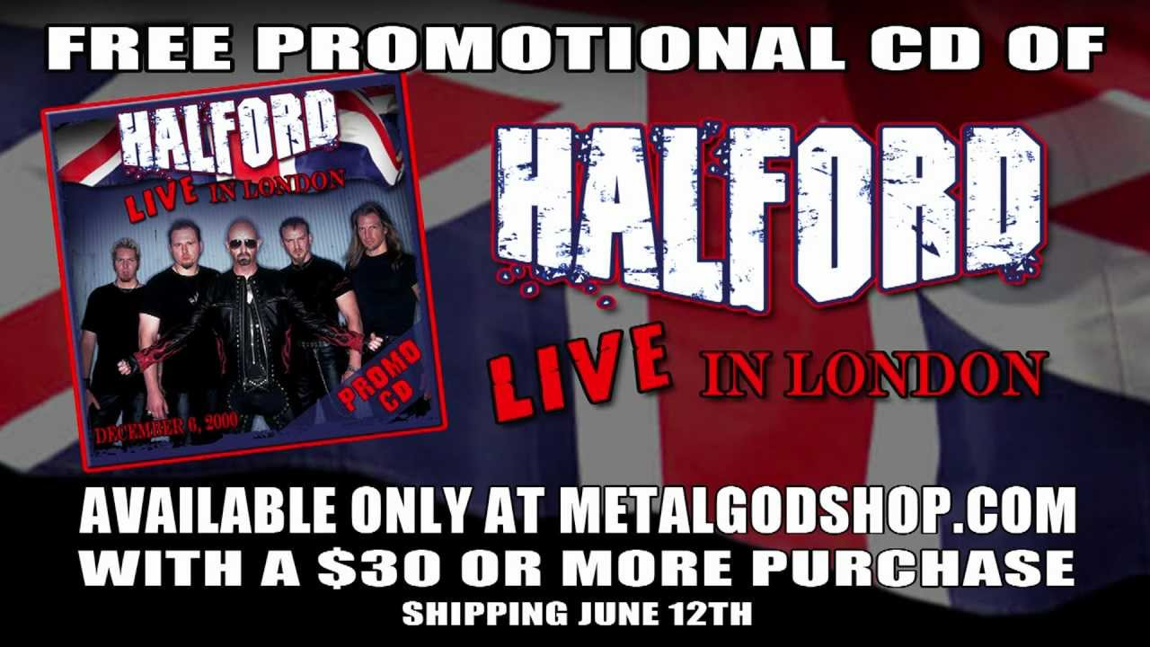 Halford Live In London - Free Promotional CD Available Only at MetalGodShop.com