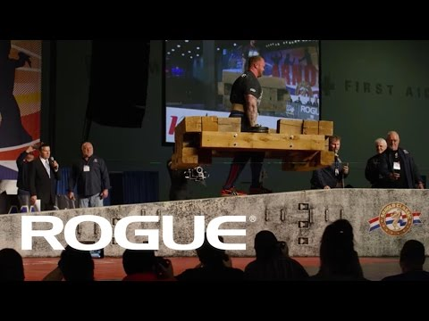 The 2015 Arnold Strongman Classic — The Timber Carry