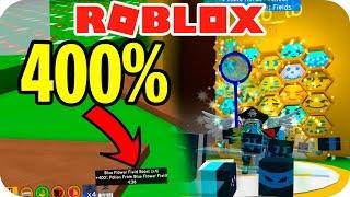 400% DE BONUS GRATIS! - ROBLOX BEE SWARM