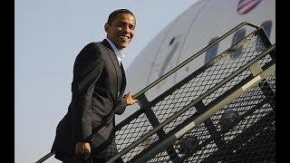 Kisumu residents excited as Former President Obama leaves K'ogelo for South Africa thumbnail