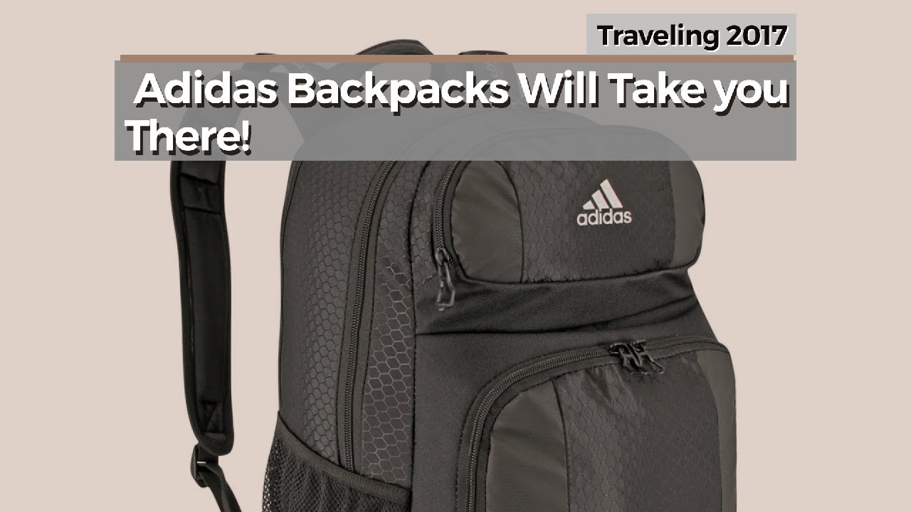 adf9d41ef7 Adidas Backpacks Will Take You There!    Traveling 2017 - YouTube