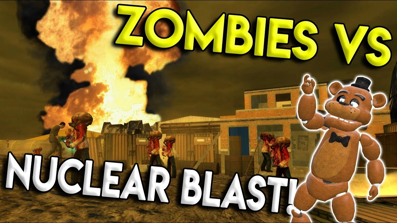 NUKE SHELTER VS ZOMBIE APOCALYPSE BATTLE! - Garry's Mod Gameplay - Gmod  Space Rocket Building