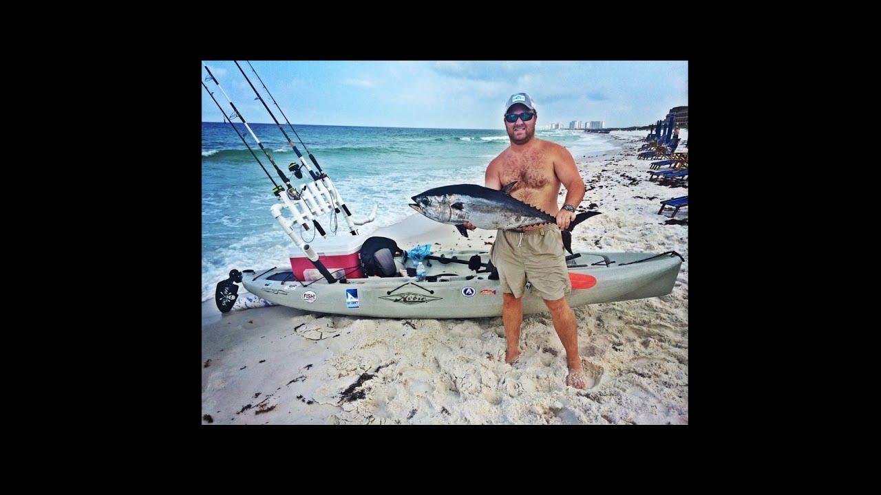 Offshore kayak fishing destin fl blackfin tuna king for Offshore kayak fishing