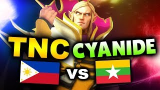 TNC vs CYANIDE - SEMI-FINAL - SEA WESG 2019 DOTA 2