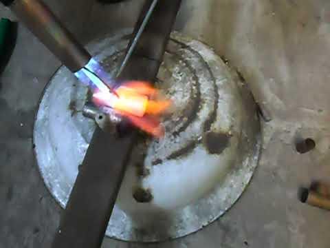 Усовершенствование пропаново-воздушной горелки  для высокотемпературной пайки твердым припоем.