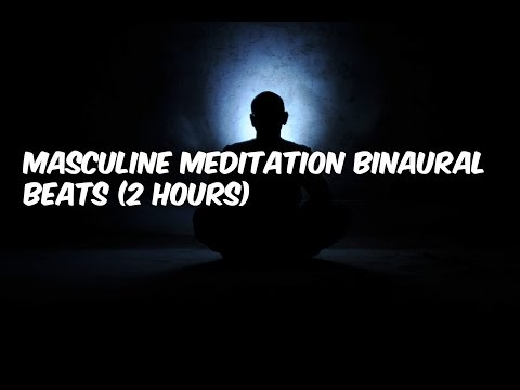 Masculine Meditation Binaural Beats (2 Hours)
