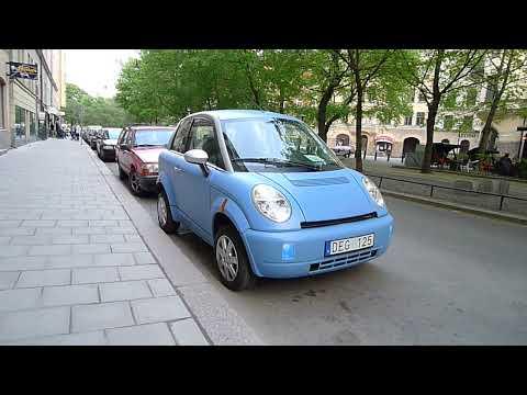 Norsk Think-bil i Sverige