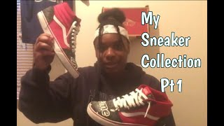 My Sneaker Collection pt1