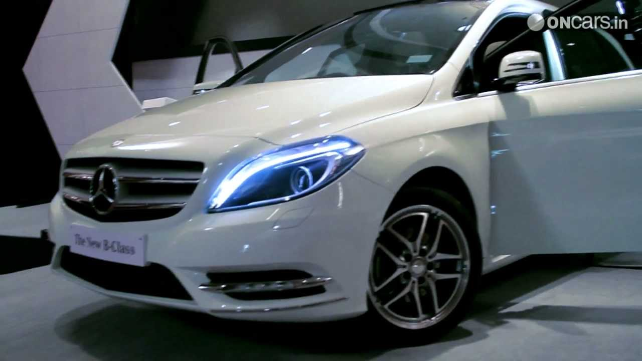 Mercedes Benz B Class Launched In India Youtube