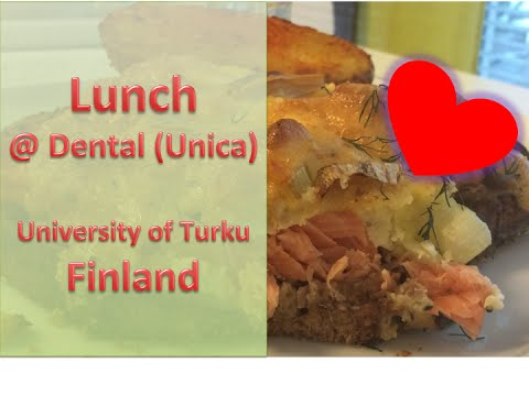 Lunch @ Dentalia ◆ University of Turku ◆ Finland ◆ PhD life [watch in HD]