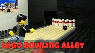 Lego Bowling Alley - Funny Brickfilm