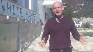KCTV visit The white house, former Durrell Household, Kalami, Corfu, Korfu, Kerkyra Greece