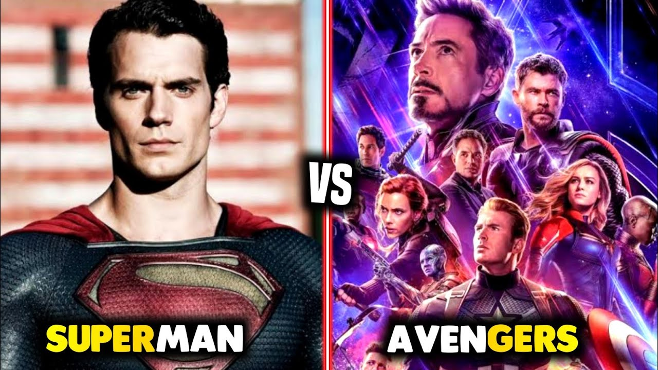 Superman Vs Avengers in Hindi    Marvel Vs Superman    MCU Vs DCEU    Marvel Vs DC in Hindi    Ep 10