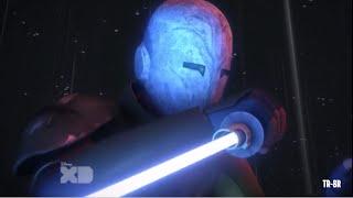 Ahsoka and Kanan vs Maul - Star Wars Rebels