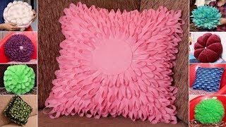 10 Beautiful Pillow Making at Home !!! Handmade Cushion Ideas