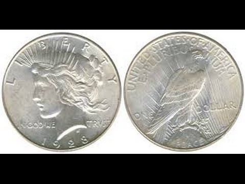 10 Peace Dollars Worth Over $500