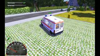 Ambulance Simulator 2012 Gameplay