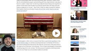 Leftist Site Smears George H.W. Bush's Dog... why??