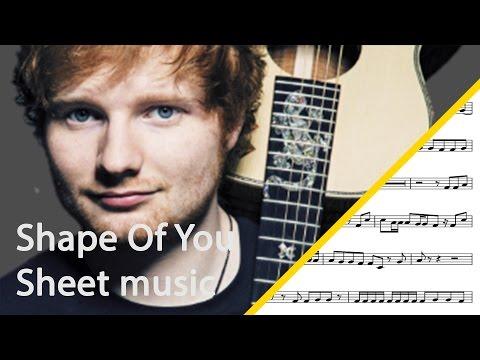 Shape Of You tuba sheet music