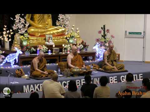 New Year's Eve Dhamma Talk for 2018 | Ajahn Brahm | 31 December 2017