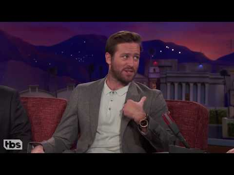 Armie Hammer  I Sucked a D*ck on Film...  ON CONAN