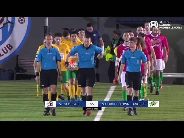 Semi Final - St George FC vs Mt Druitt Town Rangers - PS4 NPL 2 NSW Men's