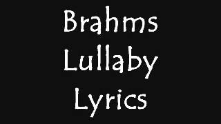 Brahms Lullaby With Lyrics