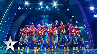Junior New System Rocks Crowd, Earns Golden Buzzer | Asia's Got Talent Semis 2