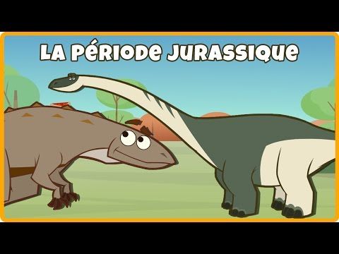 Dessin Animé des Dinosaures | La Période Jurassique | Cartoons for Children | Jurassic Period