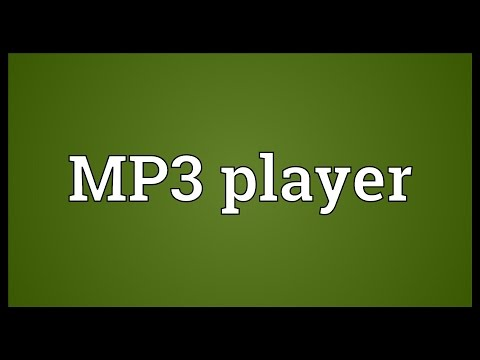 MP3 player Meaning