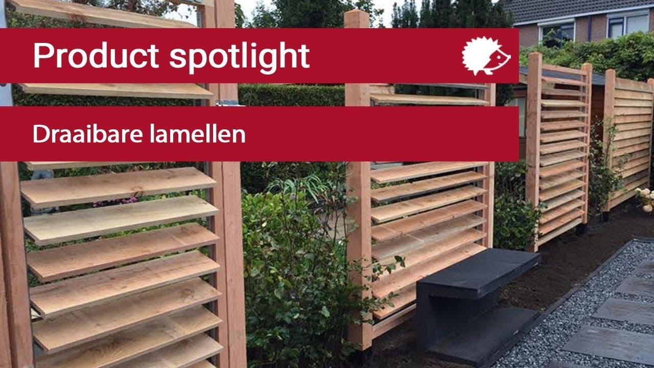 Wonderbaarlijk Product Spotlight: Flex Fence draaibare lamellen - YouTube SI-62