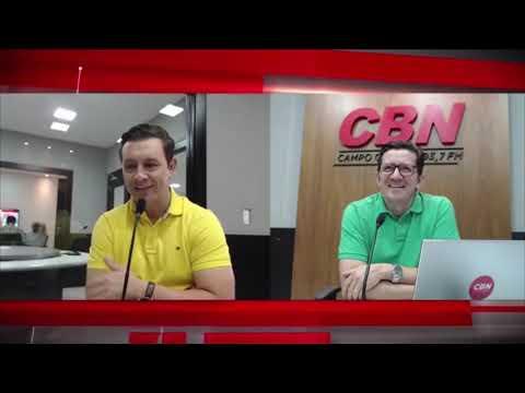 Entrevista CBN Campo Grande: André Salineiro, vereador (12/12/2018)
