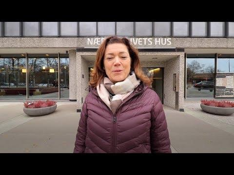 Kristin Skogen Lund fra NHO gratulerer