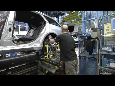 Mercedes E-Class Production, Sindelfingen, 2013 - Part 2