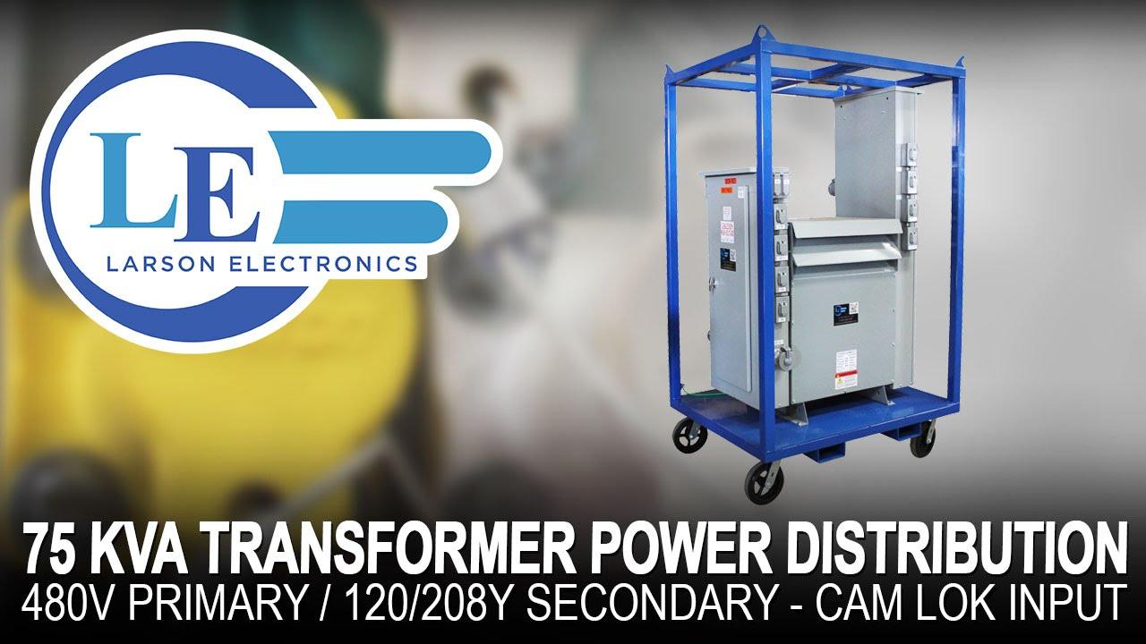 75 Kva Transformer Power Distribution 480v Primary 120 208y Volt Wiring Diagram