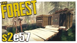 THE HOUSE BOAT | The Forest Gameplay S2E57 (Alpha v0.24)