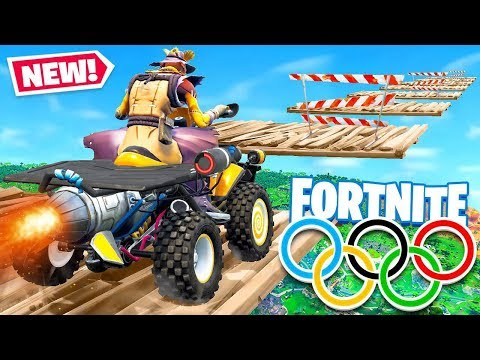 QUADCRASHER OLYMPICS *NEW* Game Modes in Fortnite Battle Royale