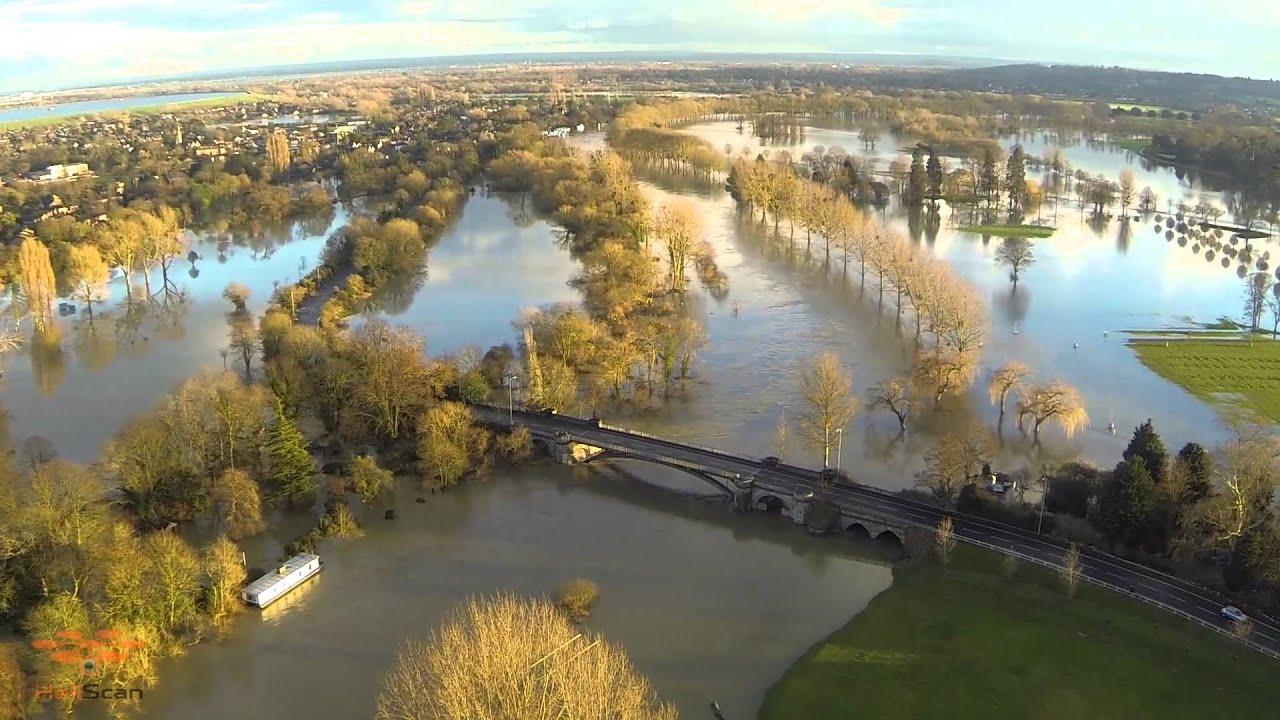 Windsor Home Park Flood 2014