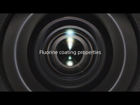 Sony | α lens | Fluorine coating properties