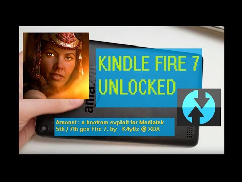 Review & How-To: 7th Gen Kindle Fire 7 to Android (NO ROOT) - YouTube