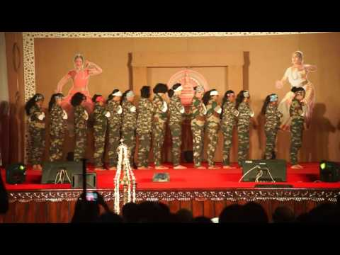 BEST DANCE PERFORMANCE BY  SH DC2016 CHALAKUDY