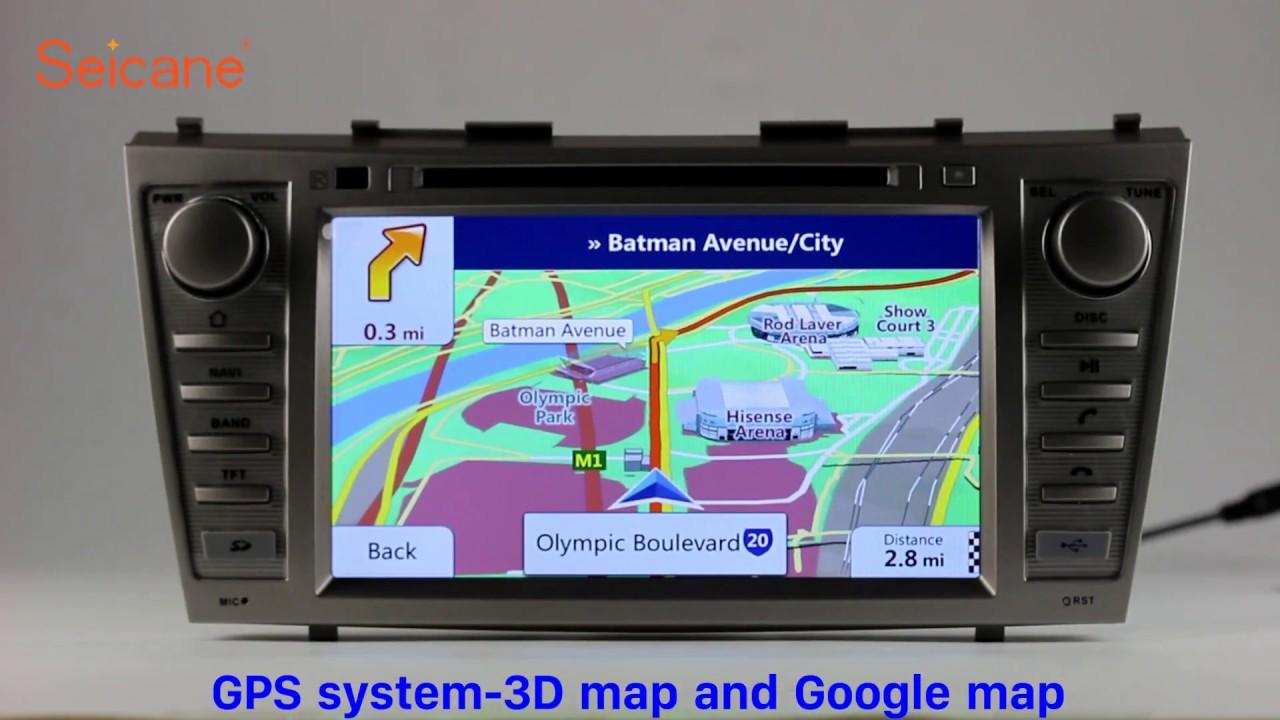 toyota camry gps navigation system