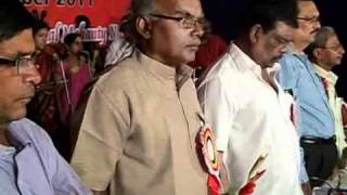 """Vande Utkala Janani"" opening song in the 12th AOUBEA conference at Sambalpur"