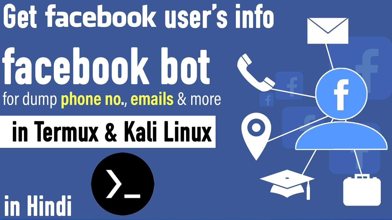 facebook information gathering in termux and Kali Linux
