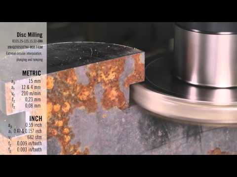 Disc Milling 335.25 Demonstration
