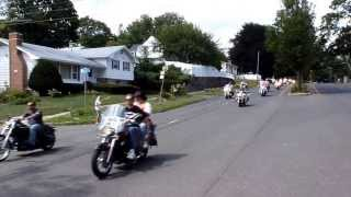 THE FREEDOM RIDERS MOTORCYCLE 2013 IN CONNECTICUT